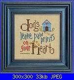 "Cerco schema ""Dogs leave Paw print.."" di Lizzie Kate-lizzie-q003-dogs-108-jpg"