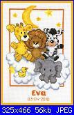 "Vervaco ""Animals on cloud"" codice 70.198-sampler-jpg"