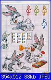 Schema Bux bunny baby con le mani poggiate sulle guance-bc24pag09-jpg