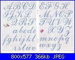 """Scritta """"Love"""" in punto croce-alfabeto_corsivo-jpg"""