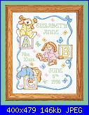 """cerco schema per sampler nascita: """"Sleepy bunnies""""-054-00481-jpg"""