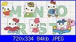 Rrimpiccolire schema di  HELLO KITTY-hellokittymonograma3-jpg
