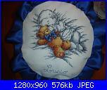 Fiocco Nascita bimbo con orsacchiotto - ciosca72-dsc01252-jpg