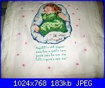 copertina lettino con angelo punto croce e pizzo-100_2408-jpg