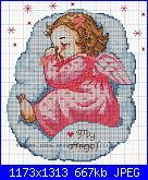 copertina lettino con angelo punto croce e pizzo-angioletto_bimba-jpg