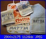 Francesca0580 - i miei lavori-bavaglini-asciugamano-nuovi-jpg