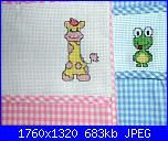 Questi sono i miei lavoretti... - pink-sacchetti-asilo-giraffa-e-ranocchio-jpg