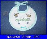 I ricami di moira83-bavaglino-manuel-2-jpg