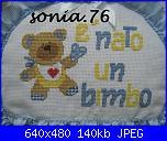 I Lavori di Sonia76-fiocco-nascita-mattia-particolare-jpg