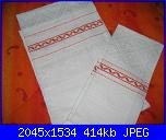 Alcuni dei miei ricami - luisangela85-asciugamani-arancioni-jpg