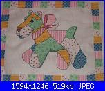 Patrizia61 - i miei lavori-cuscino-bimbo-jpg