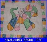 Patrizia61 - i miei lavori-cuscino-bimbo2-jpg