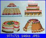Patrizia61 - i miei lavori-quadro-torte-jpg