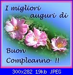 compleanno di  Rossella Usai , frangiui e aledena-fiori-rosa-jpg