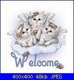 gigghina: ciao a tutti-welcome_gatinhos-jpg