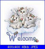 romi71: oggetto-welcome_gatinhos-jpg