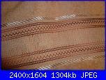 Asciugamano bordo tela Aida sfilato-p1020845-jpg