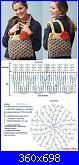 Punto Coccodrillo, tutorial, schema, idee, modelli-borsa-coccodrillo-con-schema-jpg