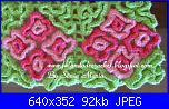 Wiggly Crochet: video tutorial,schema,spiegazioni,suggerimenti,idee & modelli...-wiggly-crochet-tappeto-bouquet-particolare-jpg