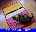 Wiggly Crochet: video tutorial,schema,spiegazioni,suggerimenti,idee & modelli...-wiggly-tappeto-con-gatto-jpg