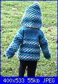 Punto Coccodrillo, tutorial, schema, idee, modelli-coccodrillo-baby-giacchetto-2-jpg