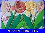 "Patchwork senza ago mania""Le mie creazioni""-aiuola-di-tulipani-jpg"