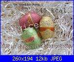 Idea regalo per Pasqua: un grappolo di cioccolata - tutorial --novi-jpg