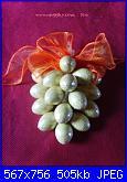 Idea regalo per Pasqua: un grappolo di cioccolata - tutorial --15-jpg