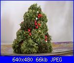 Verso il Natale. Albero di Natale con pom pom-albero-jpg
