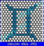 schemi segni zodiacali brick stitch/peyote-gemelli-brick-stitch-jpg