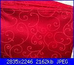 Tovaglia rossa con buchino...-12-jpg