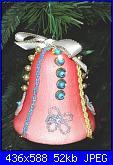 Decorazioni natalizie-campana-rosa-jpg