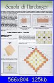 Lezioni Hardanger e miei lavori-lezione-001-jpg