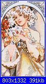 Mucha - Donne Art Nouveau-fiori-foto-jpg