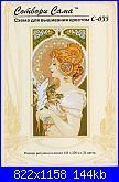 Mucha - Donne Art Nouveau-piuma-foto-jpg
