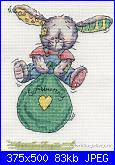 """Somebunny to love"" della DMC-bouncing-bunny-bl188-51-jpg"