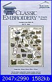 Classic Embroidery - SA173 Italia - Angela Beazley 1999-italia-jpg