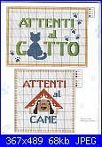 Divieti - Indicazioni - Targhette-attenti_al_cane-jpg