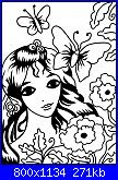 Trasformare schemi punto croce e immagini a  schemi filet-ragazza-jpg