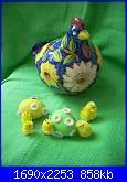 Foto: 1 Concorso Pasquale megghy.com ( uovo intero)-8-gallina-fiori-gialli-jpg