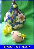 Foto: 1 Concorso Pasquale megghy.com ( uovo intero)-9-gallina-fiori-rosa-jpg