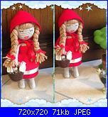 """Foto Contest """"Vestiamo una bambola""""-cappuccetto-rosso-2-jpg"""