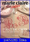 Marie Claire Idees - Point de Croix: Plus de 200 motifs à broder *-001-jpg