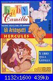 Baby Camilla Aristogatti, Hercules, Libro della Giungla 98/99 *-copertina-jpg