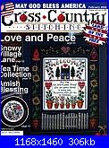 Cross Country Stitching - Love and Peace - Feb 2002 *-1_capa-jpg