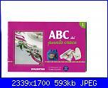ABC del punto croce n. 1 - 2005 - DeAgostini *-copertina-jpg