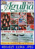 Agulha de ouro 135 - 2007  (anche  schemi Natale) *-capa-jpg