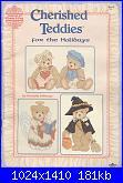 GLORIA & PAT Designs - Cherished Teddies for the holidays - Book 96 Volume 1 *-photo1-jpg