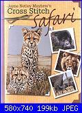 Cross Stitch Safari - Jayne Netley Mayhew - set 2006-safari-jpg