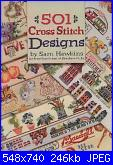 501 cross Stitch Designs by Sam Hawkins for American School of Needleworks - 1994-1-copertina-jpg